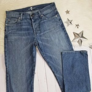 7 for all Mankind Standard straight jeans blue 29